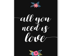Poster - All you need is love