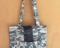 Eco bag - camuflada bolso frontal