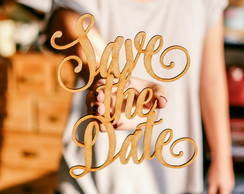 Palavra Personalizada - Save the Date M3