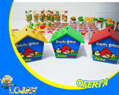 Casinha Cofre - Angry birds
