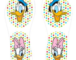 Chinelo Pato Donald e Margarida