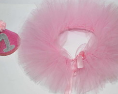 Conjunto Saia Tutu p/ Smash The Cake