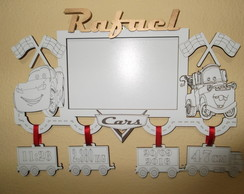 Porta Retrato Baby-Carros Disney