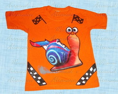 Camiseta Divertida Turbo, Caracol