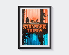 Pôster Stranger Things DIGITAL