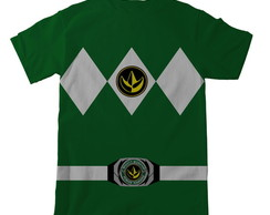 Camiseta Power Ranger Adulto