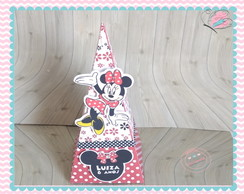 caixa cone piramide minnie
