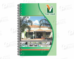 Caderno Pequeno Corporativo Exclusivo