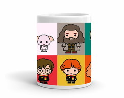 Caneca Harry Potter Pixels