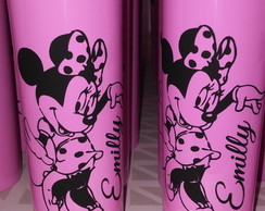 Copo minnie rosa Long Drink Personalizado - 100 Unid