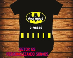 body infantil batman
