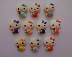 Hello Kitty com Flor