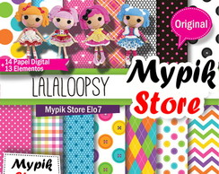 Kit Digital Lalaloopsy - Mod 25
