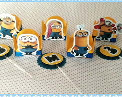 Forminha + topper - Minions 01