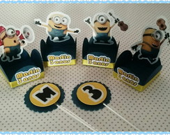 Forminha + Topper - Minions 02