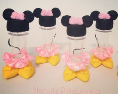 Mini tubetes Minnie Rosa Corpinho