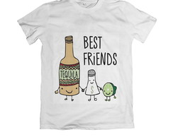Camiseta Unissex Best Friends