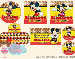 Kit Digital Mickey 6