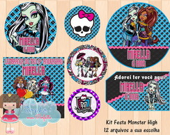 Kit Digital Monster High 4