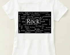 Camiseta Unissex Rock