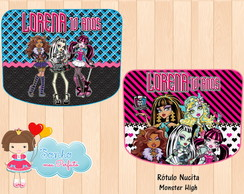 Rótulo Nucita - Monster High