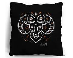 ALMOFADA SILK SCREEN - SIGNO ARIES