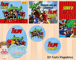 Kit Digital Vingadores 3