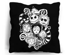 ALMOFADA SILK SCREEN - TIM BURTON