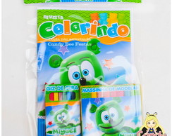 Kit Colorir Gummy Bear com Massinha