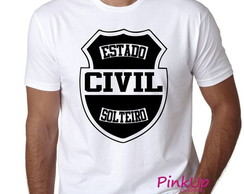 Camiseta Unissex - Estado Civil