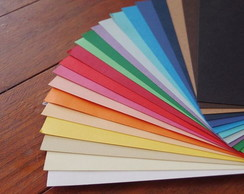 Papel Color plus 02 cores (12 unidades)