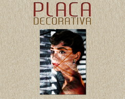 PLACA DECORATIVA - CINEMA 02