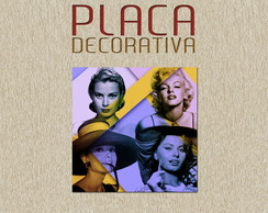 PLACA DECORATIVA - CINEMA 03