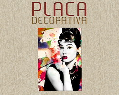 PLACA DECORATIVA - CINEMA 05