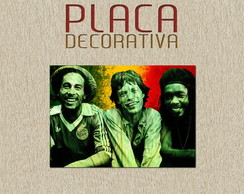 PLACA DECORATIVA - MUSICA 01