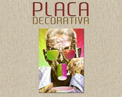 PLACA DECORATIVA - CARTOLA 01