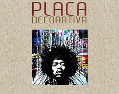 PLACA DECORATIVA - MUSICA 03