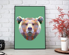 Poster Digital - Urso