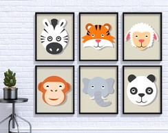 Poster Digital - Kit Animais 2