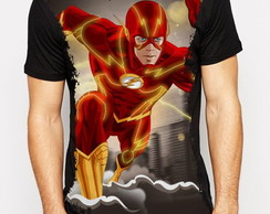 Camiseta série The Flash