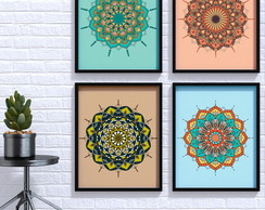 Poster Digital - Kit Mandalas 3
