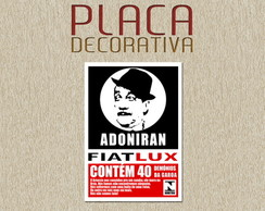 PLACA DECORATIVA - MUSICA 07