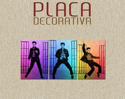 PLACA DECORATIVA - MUSICA 10