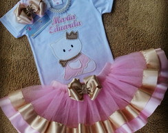 Conjunto Tutu Hello Kitty