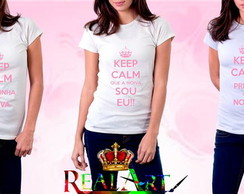 Camiseta Keep Calm Noiva