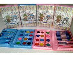 10 Kits de Pintura +Revistas p/ colorir