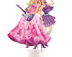 Tubete Barbie Pop Star