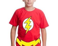 463f4bb646 ... Camiseta Camisa The Flash Customizada
