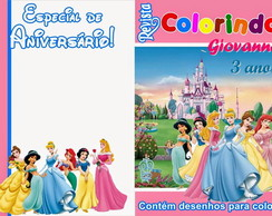 Revista de colorir As Princesas