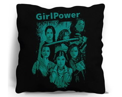 ALMOFADA SILK SCREEN - GIRL POWER